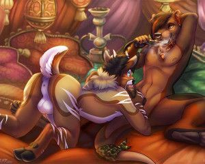 Gay furry porn sample